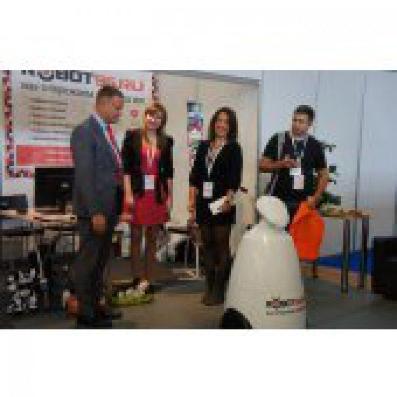 «Робот96» презентовал уникальную технику на «Internet Expo'14» в КОСКе