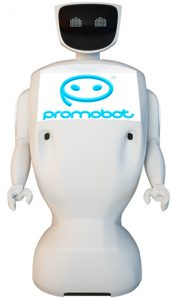 Робот консультант (Promobot)