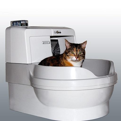 Робот туалет для кошек — CatGenie 120 Full