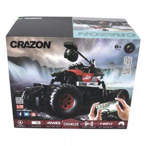 Радиоуправляемый краулер-амфибия Crazon Crawler c WiFi FPV камерой 4WD