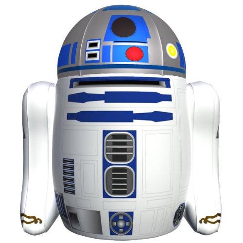 Надувной R2-D2, управляемый с пульта  ду