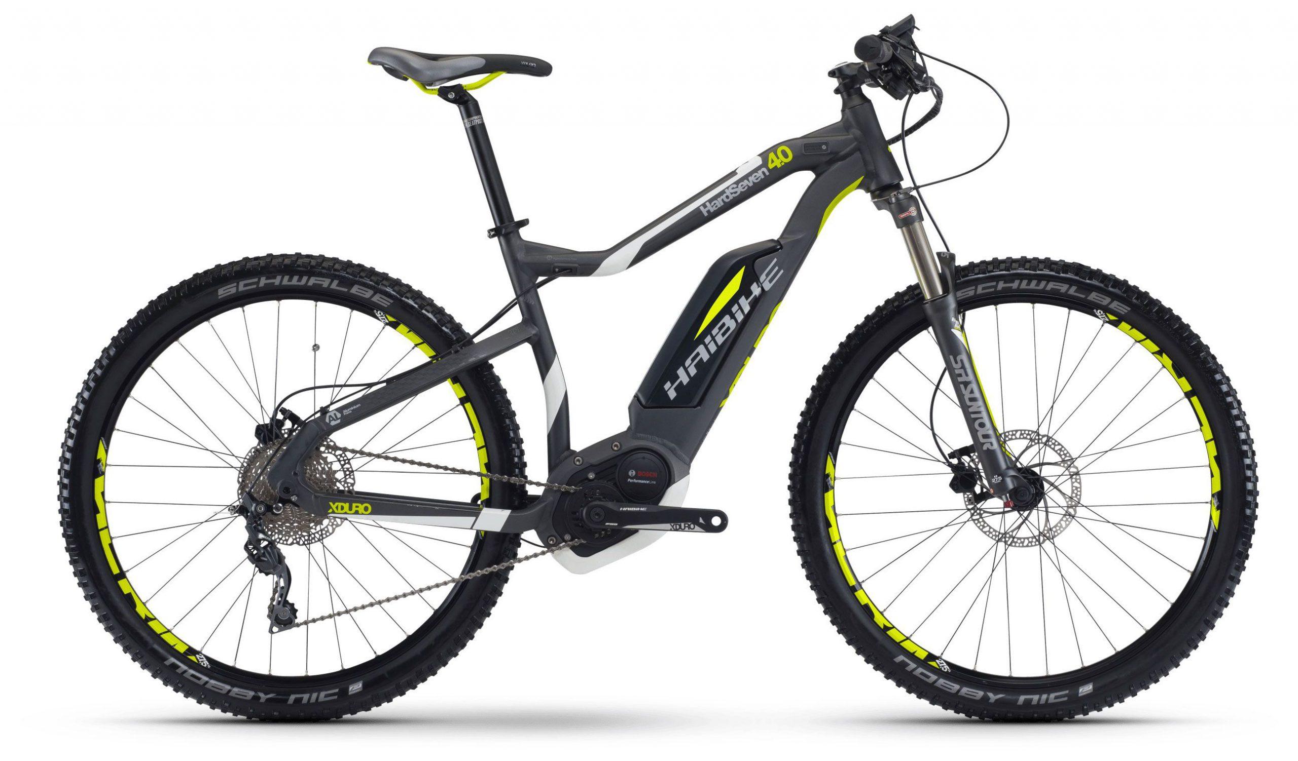 Велосипед Haibike Sduro HardSeven 4.0 400Wh 9-Sp Acera