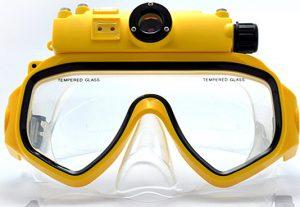 Плавательная маска с цифровой камерой