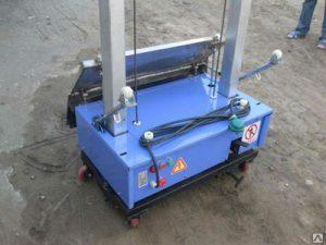 Робот-штукатур RoboPlaster 1000x