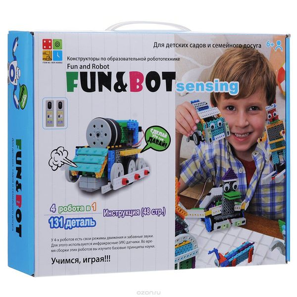 Huna Fun and Bot Sensing