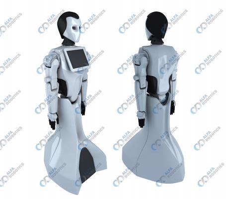 Робот-промоутер Riki
