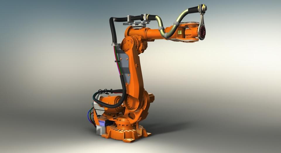 Промышленный робот ABB IRB 6640