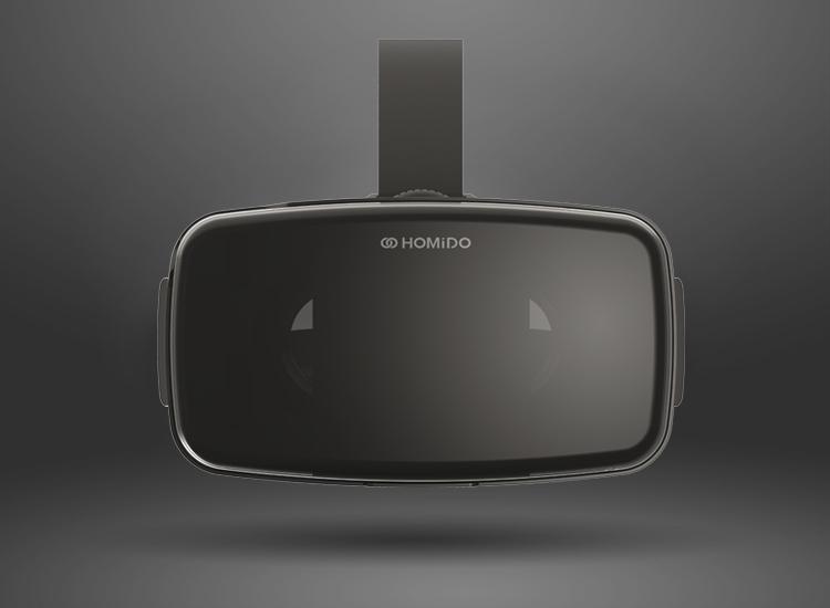 Очки виртуальной реальности HOMIDO V2-3