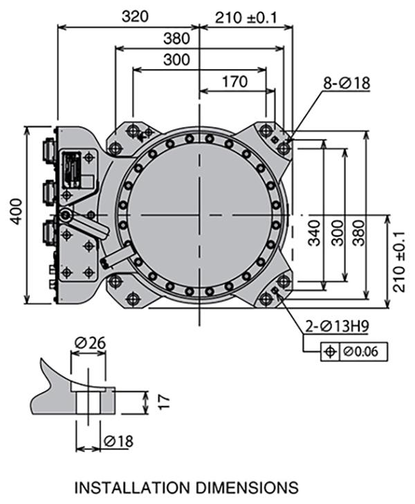 Промышленный робот Kawasaki RS080N-3