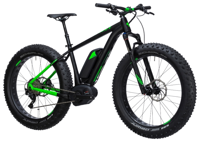 Электровелосипед Cube Nutrail Hybrid 500-1