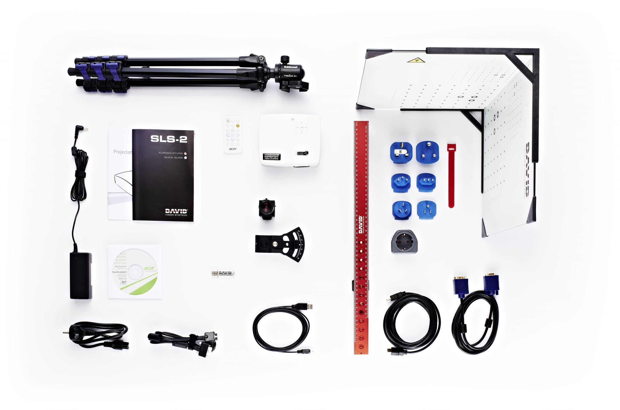 3D сканер DAVID SLS-3-3