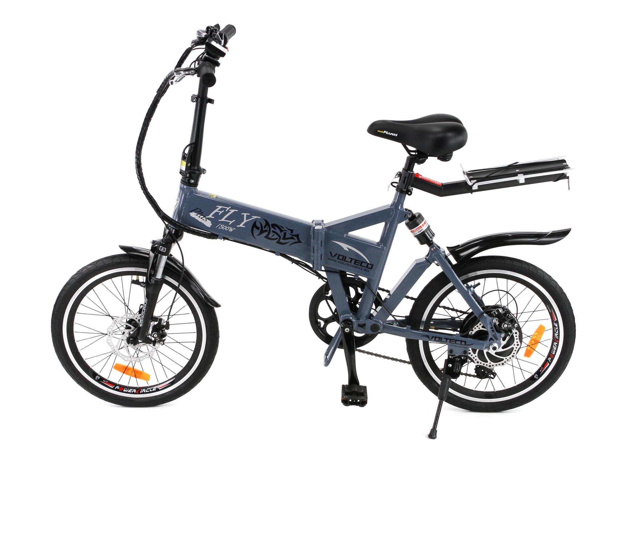 Электровелосипед Volteco Fly Plus 500 (2015)-3