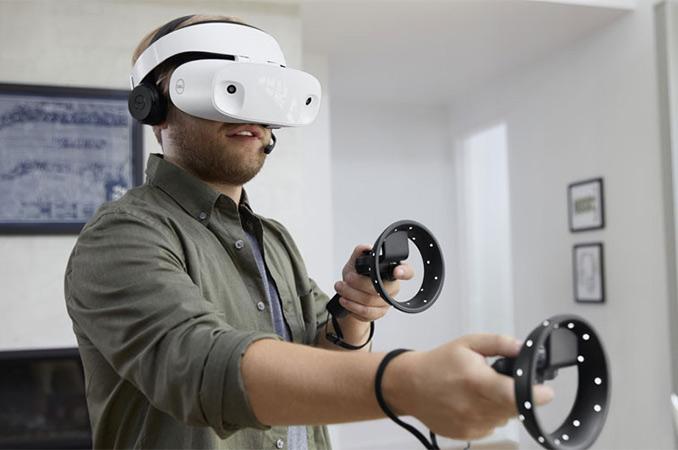 Очки виртуальной реальности DELL Visor Windows Mixed Reality Headset-4