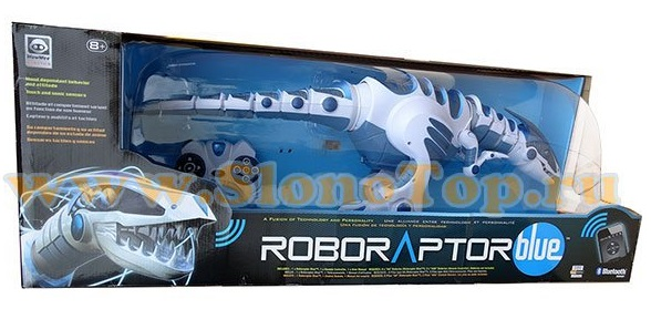 Робот-динозавр Roboraptor Blue 8017 WowWee-1