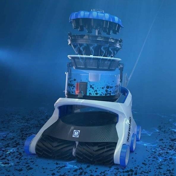 Робот-пылесос Hayward AquaVac 650-3