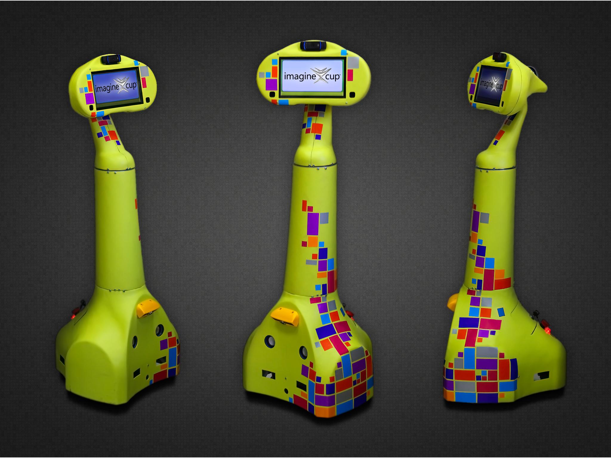 Робот телеприсутствия Webot-3