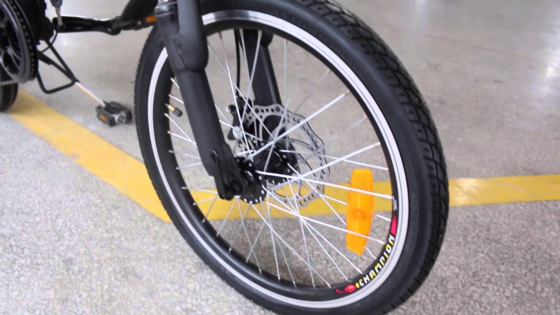 Электровелосипед WELLNESS Air 350-3