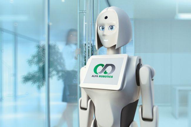 Робот-промоутер Kiki-2