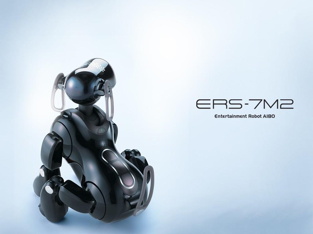 Робот-собака Aibo-1