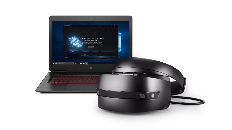 Очки виртуальной реальности HP Windows Mixed Reality Headset-2
