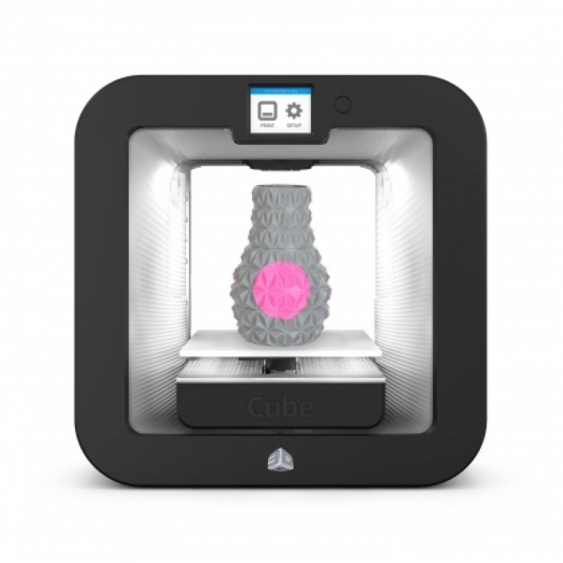 3D принтер Cube 3D Printer Gen3 WHITE-2