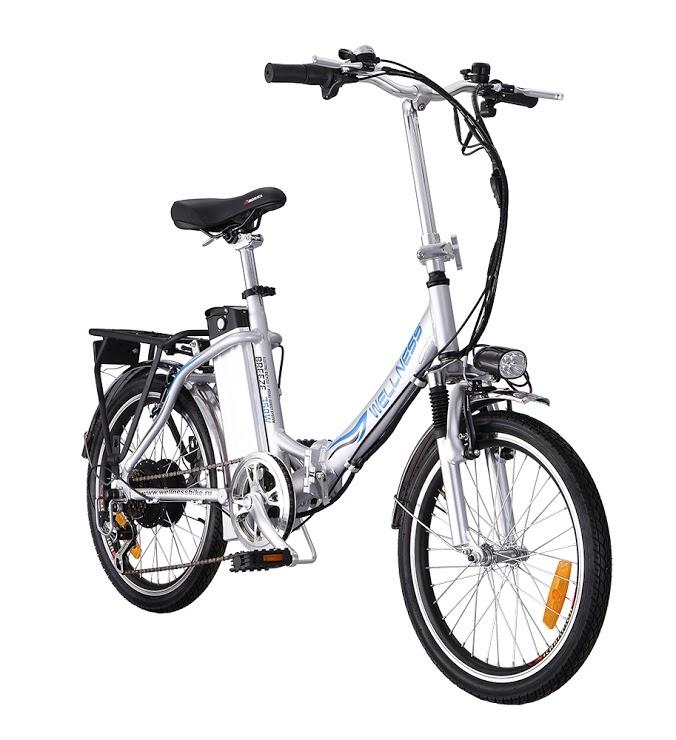 Электровелосипед WELLNESS Breeze-1