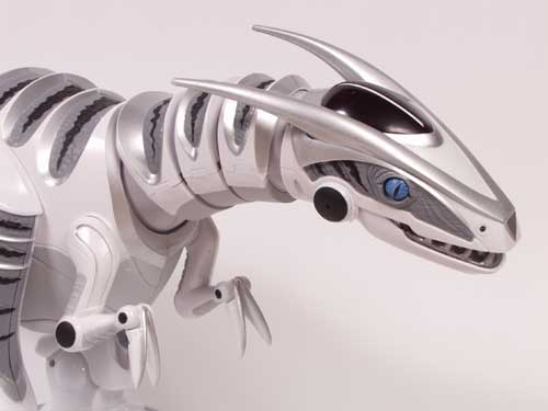 Робот-динозавр Roboraptor Blue 8017 WowWee-3