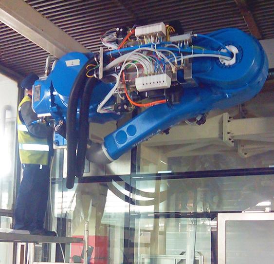 Промышленный робот Motoman EPX2700-1
