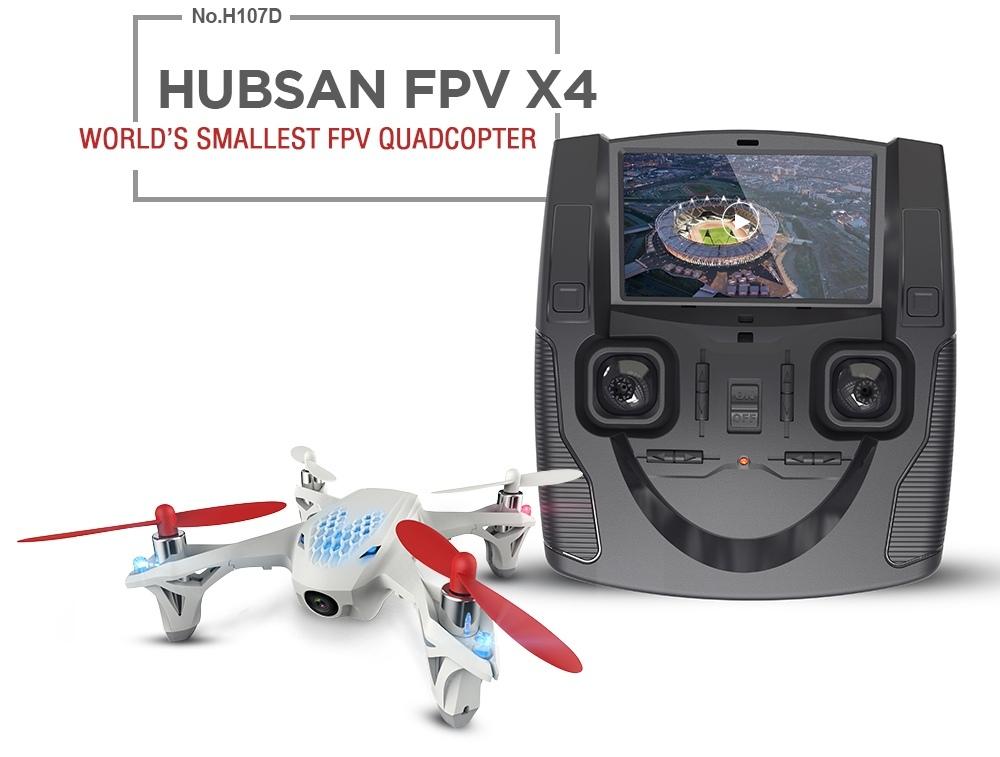 Квадрокоптер Hubsan X4 FPV H107D-2
