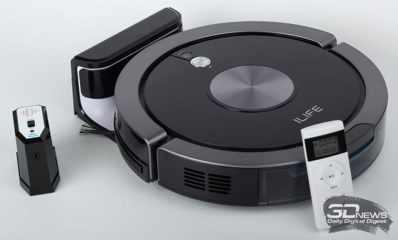 Робот пылесос iLife A9s-5
