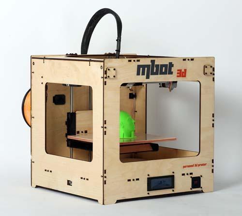 3D принтер MBot Cube Plywood DH-3
