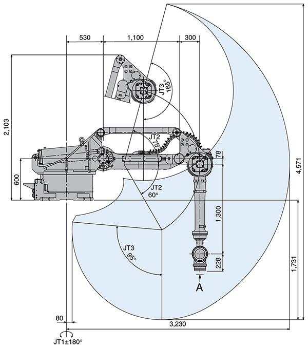 Промышленный робот Kawasaki ZT165U-2