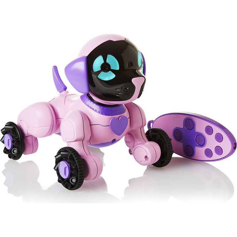 Интерактивная розовая собачка Чипетте компании WowWee 3817-3