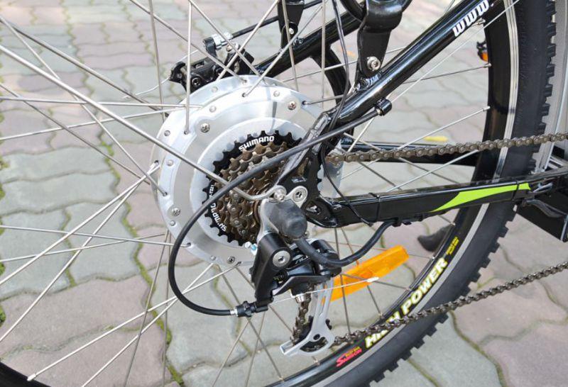 Электровелосипед Eltreco Ultra EX Plus 500W (2013)-5
