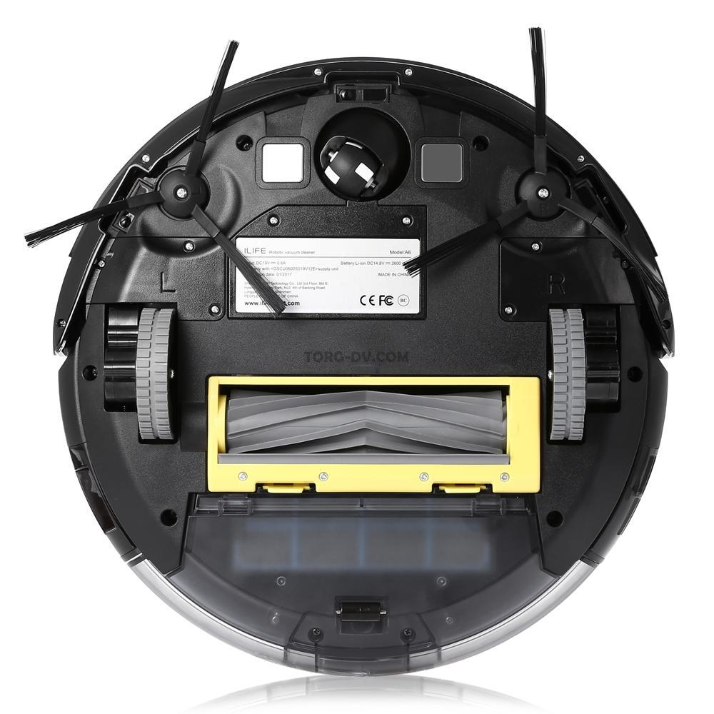 Робот пылесос iLife A6-2