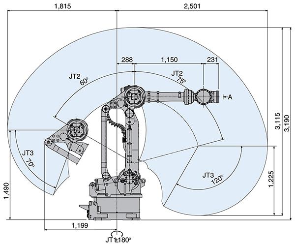 Промышленный робот Kawasaki ZX300S-2