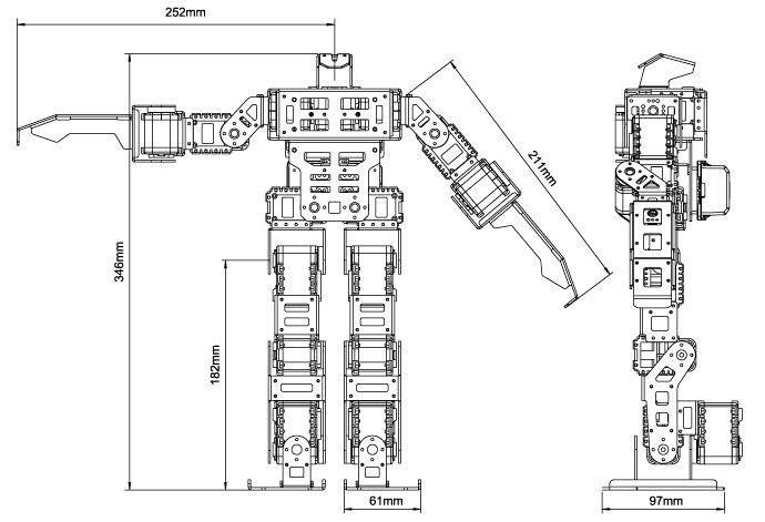ROBOTIS BIOLOID GP-5