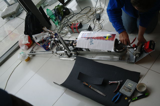 Робот-скалолаз Вигл-5