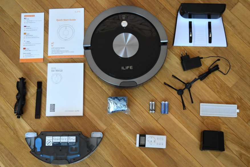 Робот пылесос iLife A9s-2