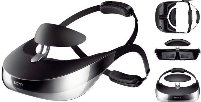 Очки виртуальной реальности Sony HMZ-T3W-4