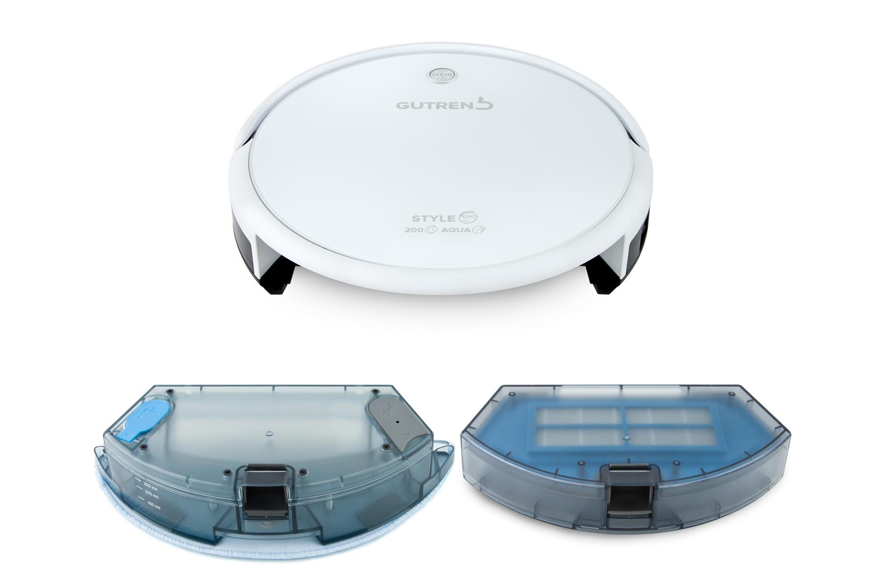 Робот-пылесос GUTREND STYLE 200 Aqua White-3