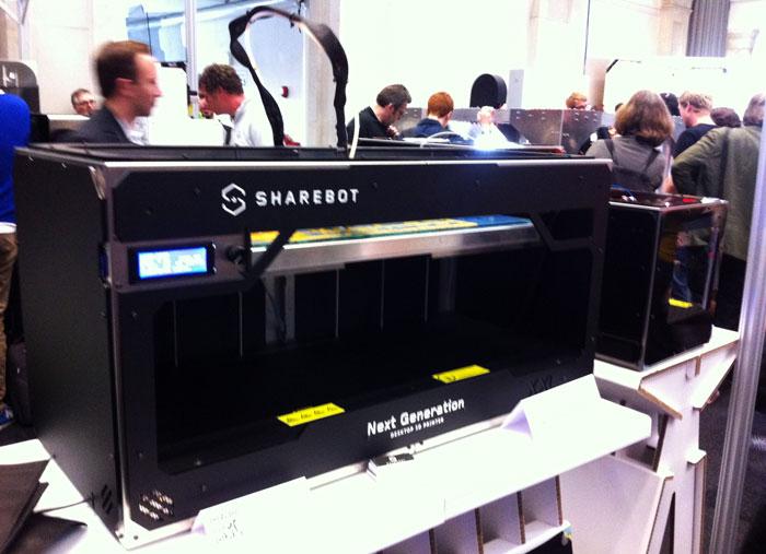 3D принтер SHAREBOT XXL-5