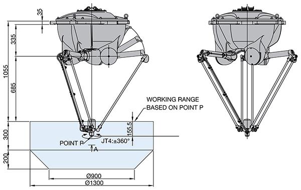 Промышленный робот Kawasaki YF003N-2