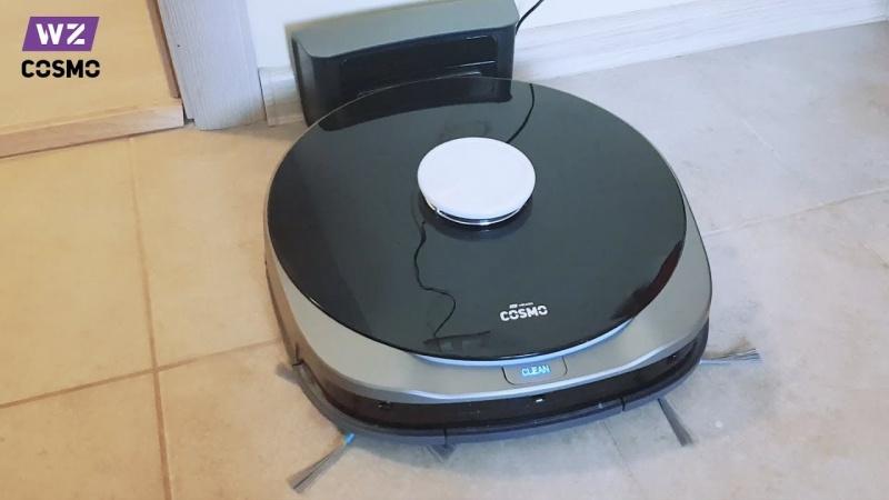 Робот-пылесос Wolkinz COSMO с системой лазерной навигации-1
