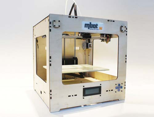 3D принтер MBot Cube Plywood DH-1