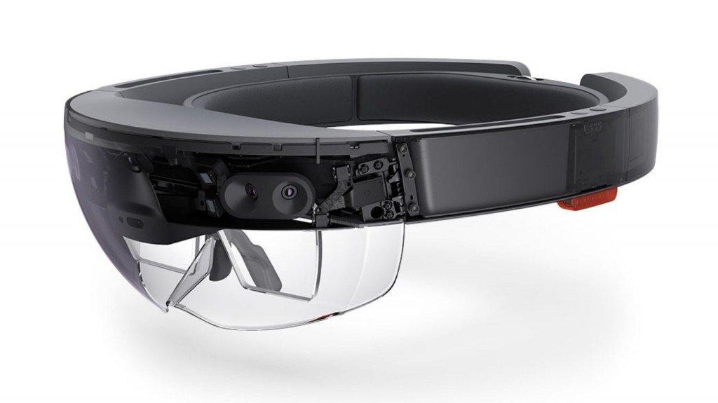 Очки виртуальной реальности Microsoft Hololens-1