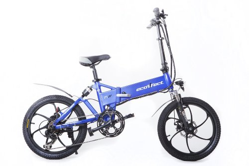 Электровелосипед-Велогибрид ECOFFECT F1 PREMIUM-1