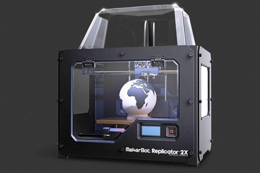 3D принтер MakerBot Replicator 2X-3