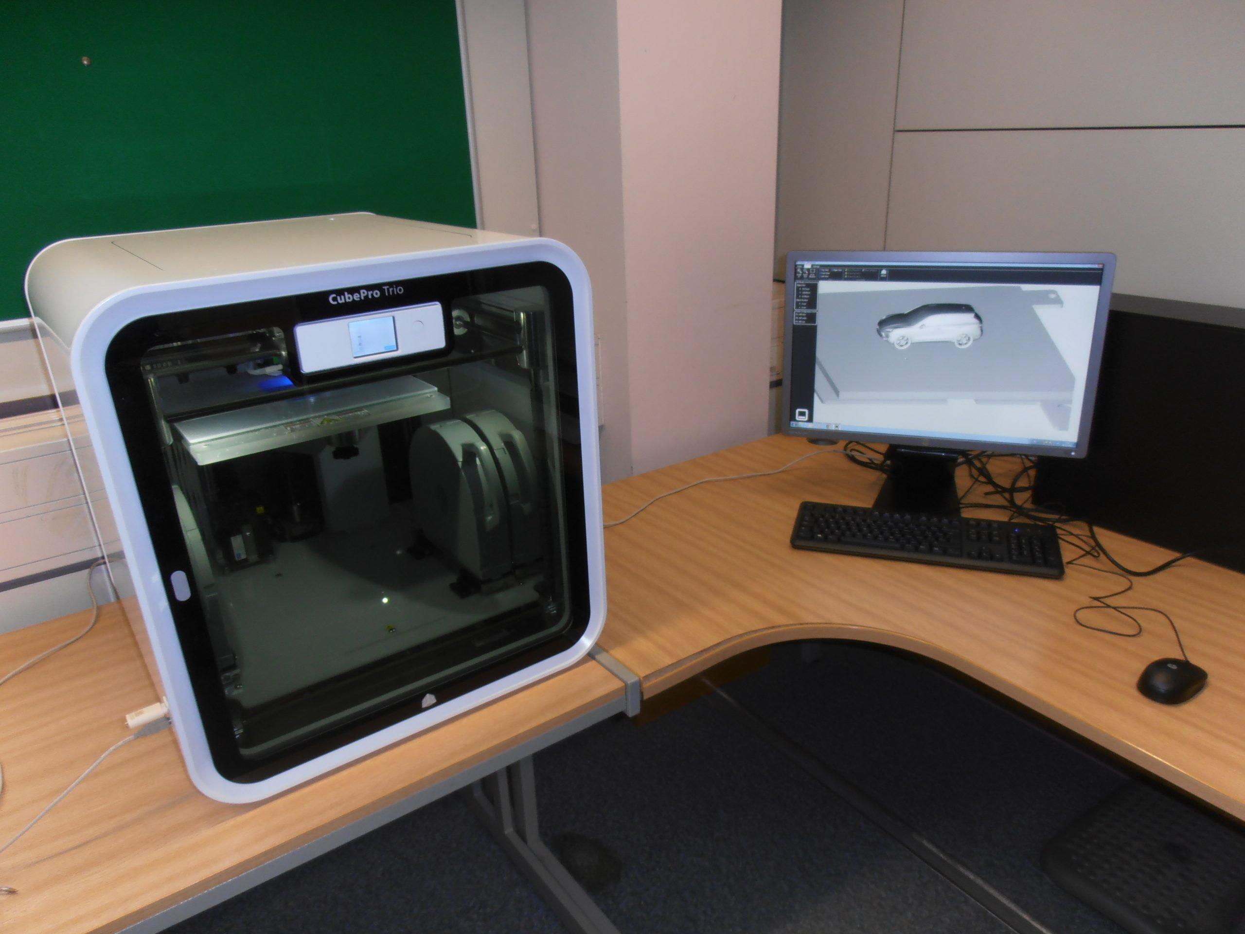 3D принтер CUBEPRO TRIO-7