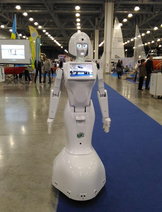 Робот-промоутер Kiki-5